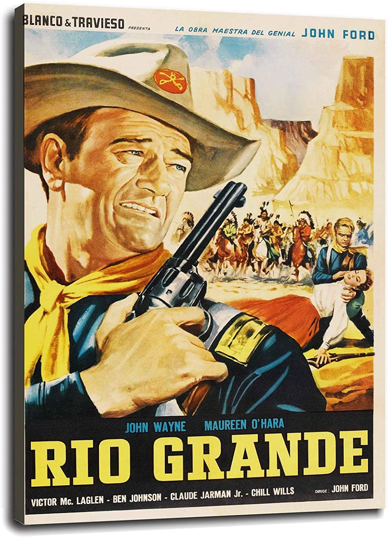 Rio Grande 日本限定 1950 John Wayne Maureen O'Hara 本物 Movie Cult Western Pos