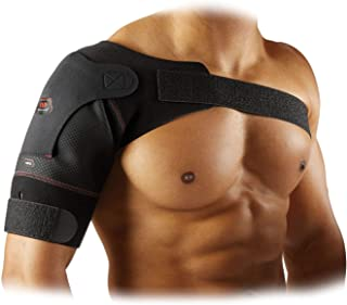 McDavid Level 1 Shoulder Wrap, Black, Size M