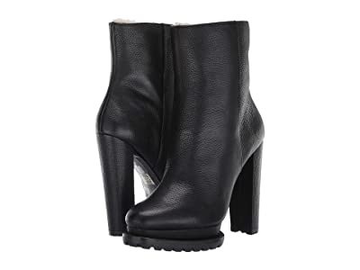Alice + Olivia Holden Shearling Boot (Black) Women