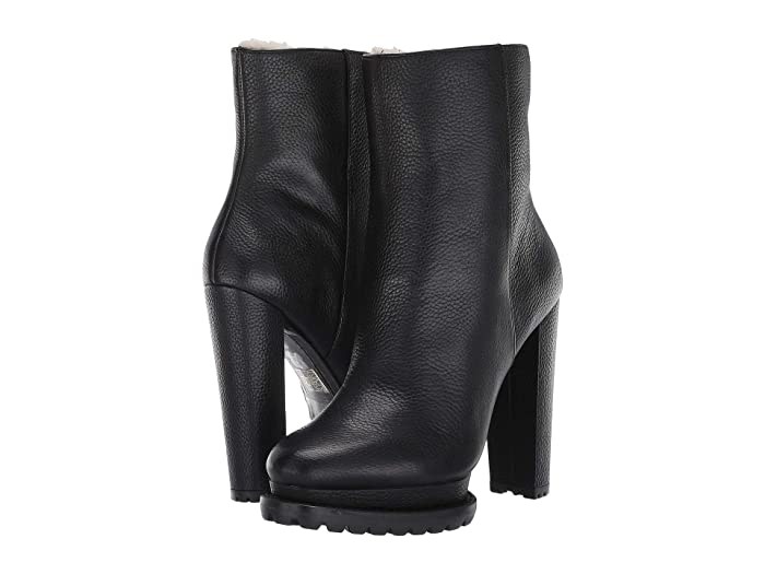 Alice + Olivia  Holden Shearling Boot (Black) Womens Boots