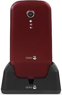 Doro 2404 – mobil telefon röd/vit