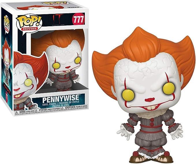 Pennywise avec Chien Pincettes Neuf en Boîte Pop Films Capitre 2 Ça Funko