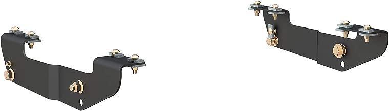 CURT 16418 5th Wheel Installation Brackets Black Select Chevrolet Silverado, GMC Sierra 1500, 2500LD, 2500HD, 3500