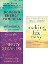 Dodging energy vampires [hardcover], energy strands and making life easy 3 books collection set