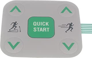 Treadmill Doctor Treadmill Snap Dome 5 Button Label for The Precor Models C932i C954i Part Number 48778101