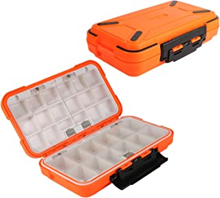 Goture Waterproof//2-sided//Fishing-Lure-Boxes-Bait, for Vest Small-Case,  Mini-Box Storage Containers