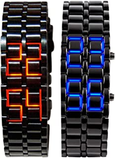 Best red led digital watch lava style Reviews
