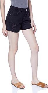 Shorts Sarja New Hot Pants, Triton, Feminino