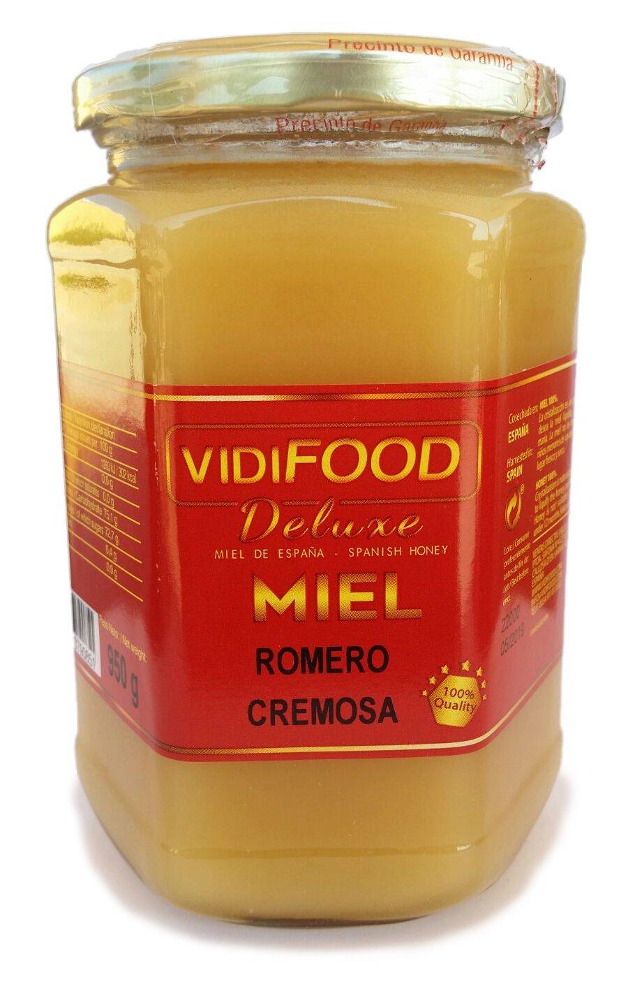 Miel de Romero Crema - 950g - Producida en España: Amazon.es ...