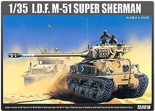 Academy 13254 TA981N 1/35scale model kit ISRAELI MEDIUM TANK M-51 SUPER SHERMAN