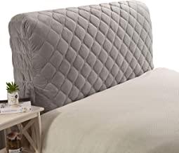 Bed Headboard Cover Slipcover Backrest Cover Nordic Style All-Inclusive Headboards Dustproof Bed Head Cover for Bedroom Pr...