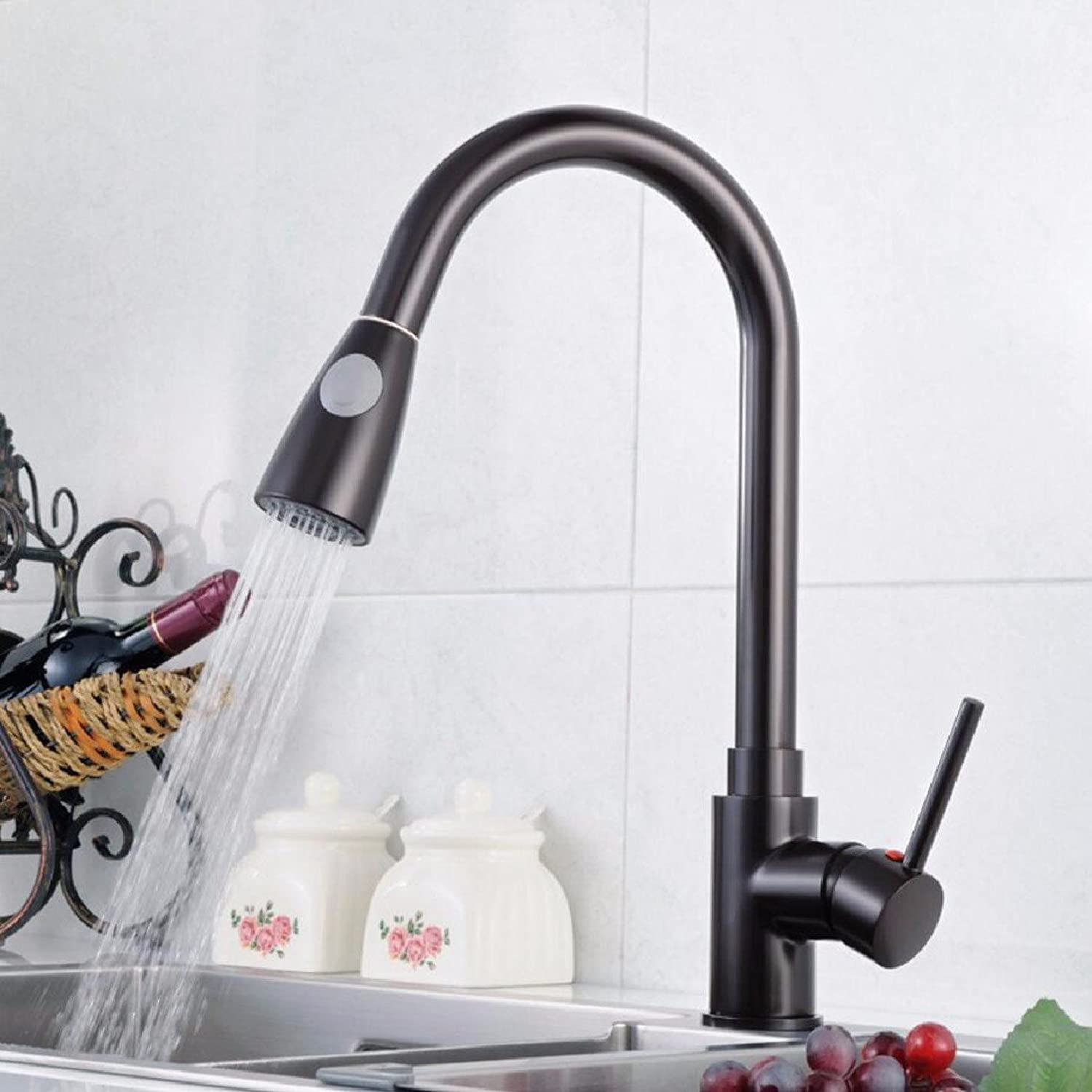 CJSH Kitchen Faucet Hot And Cold Faucet, Fast Hot Faucet Kitchen Sink Faucet