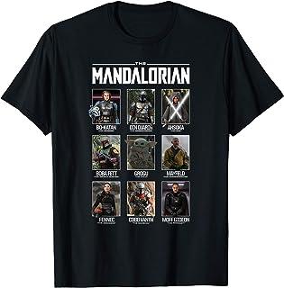 The Mandalorian Character Grid T-Shirt