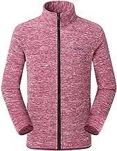 YIHANK Herrenjacke Herbst Winter Casual Outdoor Reißverschluss Fleece Stehkragen Sport Mantel Übergangsjack