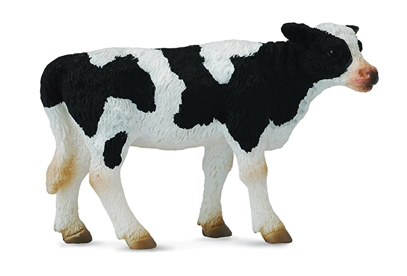 Collecta Standing Friesian Calf