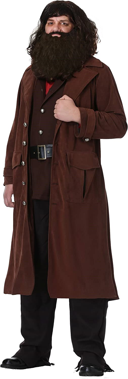 Deluxe Hagrid Adult Fancy dress costume X-Large
