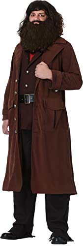 Deluxe Hagrid Adult Fancy Robe costume Medium