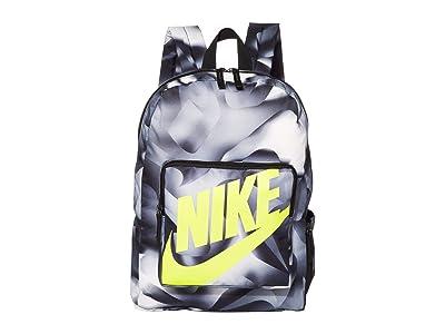 Nike Kids Classic Backpack (Little Kids/Big Kids) (Black/Black/Lemon Venom) Backpack Bags