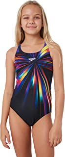 Speedo Girls Youth Girls Crossback One Piece Lace Polyester
