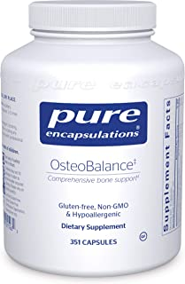 Pure Encapsulations - OsteoBalance - Hypoallergenic Supplement to Promote Calcium Absorption and Enhance Healthy Bone Mineralization* - 351 Capsules
