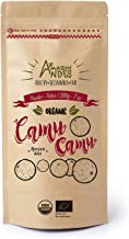 Amazon Andes - Organic Camu camu Fruit Powder - Rich Vitamin C Source - RAW Supplement - 7 Ounce (40 Servings) - Non GMO -...