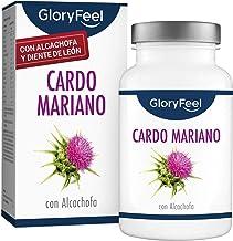 Cardo Mariano Complex - 500mg por dosis diaria - Alta dosificación con 80% de Silimarina - Con Alcachofa, Diente de León y Desmodium - Fabricado en Alemania