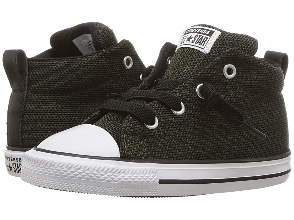 Converse Kids Chuck Taylor All Star Street Mid (Infant Toddler) (Utility  Green ccc0f4041