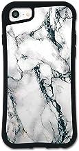 iPhone SE 第2世代 ケース iPhone8 ケース iPhone7ケース どこでもくっつくケース WAYLLY(ウェイリー) iPhone6sケース iPhone6ケース 着せ替え 耐衝撃 米軍MIL規格 [大理石 ホワイト] セット MK