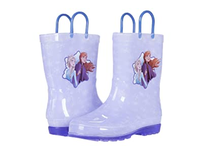 Josmo Kids Frozen Lighted Rain Boots (Toddler/Little Kid) (Lilac) Girl