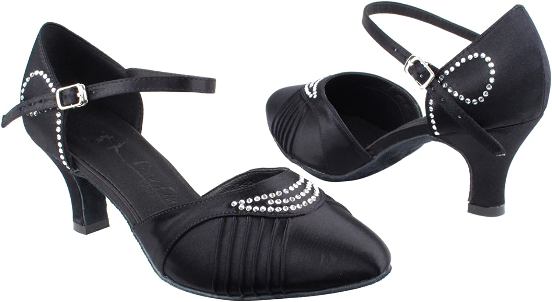 gold Pigeon shoes Party Party SERA1397 Comfort Evening Dress Pumps, Wedding shoes  Women Ballroom Dance shoes Medium Heel