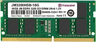 Transcend 16GB Jet Ram DDR4-3200 1Gx8 1.2V Laptop Memory|JM3200HSB-16G