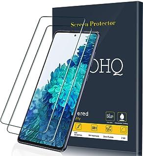 comprar comparacion QHOHQ Protector de Pantalla para Samsung Galaxy S20 FE (4G con 5G)/Galaxy A51 (4G con 5G)/Galaxy M31S, 2 Piezas [Dureza ...