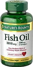 Nature's Bounty Fish Oil Omega-3 1000 mg Softgels 145 ea