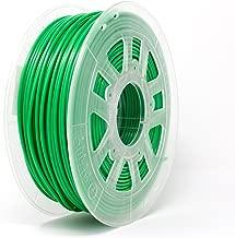 Gizmo Dorks 3mm (2.85mm) PLA Filament 1kg / 2.2lb for 3D Printers, Green Grass