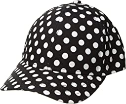 Polka Dot Ball Cap (Little Kids/Big Kids)