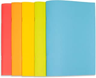 """Stapled Sketchbook - 5.5x8.5"""" - Art, Journal Book for Kids, Adults, Schools - Blank Paper - 40 Pages - Multi-Pack (20-Pac..."""