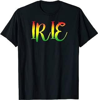 Irie - Good Vibes Only Rasta Reggae Roots Clothing Tee Flag