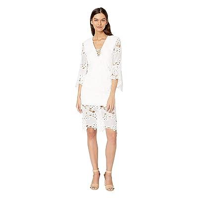 Bardot Indra Lace Dress (Ivory) Women