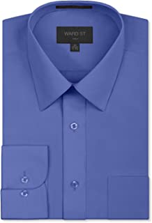906c677db152 Ward St Men's Regular Fit Dress Shirts