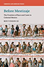 Before Mestizaje: The Frontiers of Race and Caste in Colonial Mexico (Cambridge Latin American Studies)