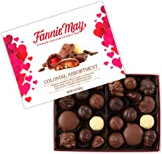 product image for Fannie May Valentines Day Colonial Chocolate Assortment, Candy Gift Box, 14 oz