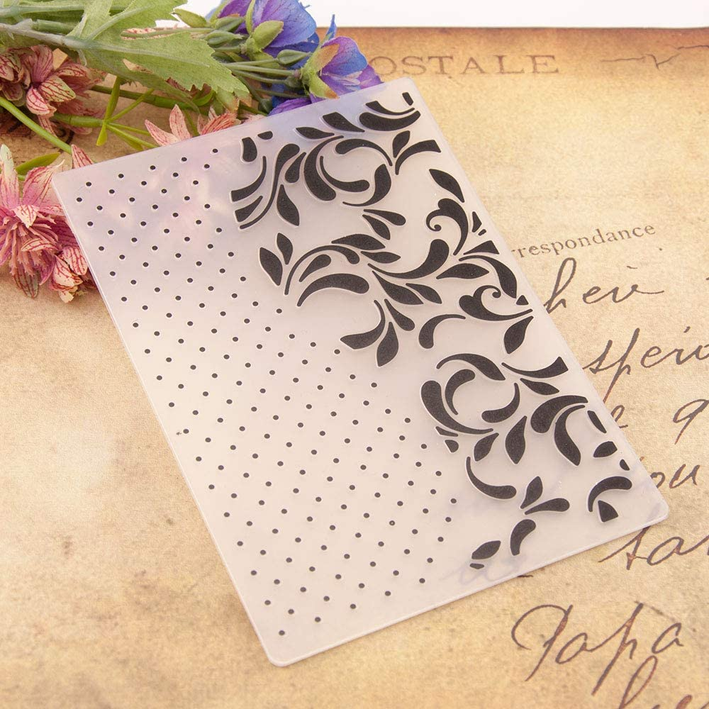 Welcome to Joyful Home Direct sale of Philadelphia Mall manufacturer 1PC Fol Frame Leaves Background Embossing