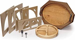 MLCS 9179 Bowl And Tray Template Kit with Router Bit