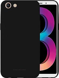 Oppo A83 Molan Cano Flexible Matte Silicone Soft Back Case - Black
