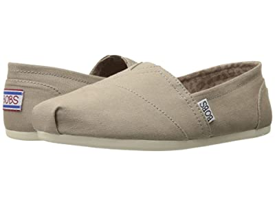 BOBS from SKECHERS Bobs Plush Peace and Love (Taupe) Women