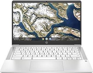 HP Chromebook 14a-na0030ca 14'' Laptop, Intel Pentium Silver N5000, 4GB RAM, 128GB eMMC, Ceramic White - 9VU04UA#ABL