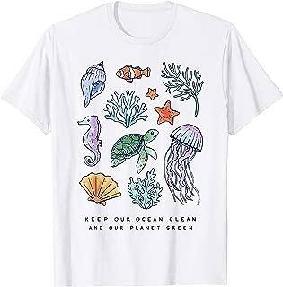 keep our oceans clean shirt