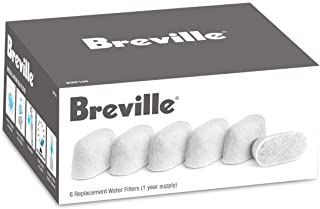 Breville BWF100 Water Filters, 6-Pack,White