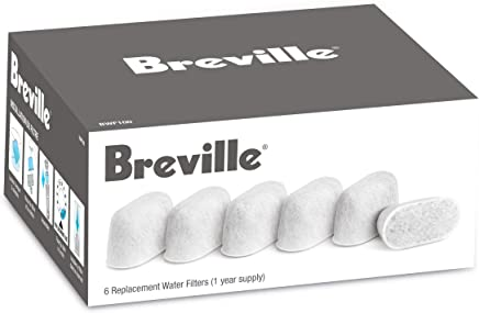 Breville BWF100 Replacement Water Filters, 6-Pack