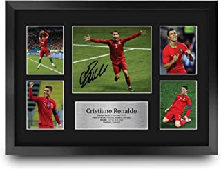 HWC Trading FR A3 Cristiano Ronaldo Portugal Gifts Printed Signed Autograph Picture for Football Fans and Supporters - A3 ...